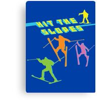 Hit The Slopes! (ALWAYS SUNNY) Canvas Print