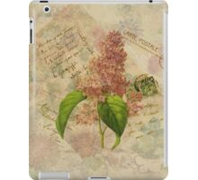 Decoupage 3 iPad Case/Skin