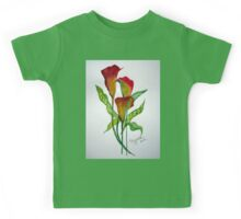 Callas with leaves Kids Tee