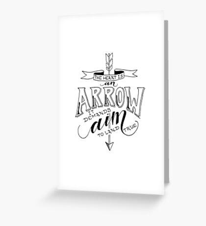 Arrow & Aim Greeting Card