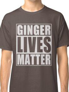 Ginger Lives Matter Classic T-Shirt