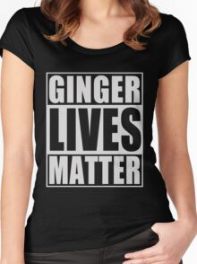 Ginger Lives Matter Women's Fitted Scoop T-Shirt