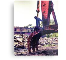 Jaws of destruction  Metal Print