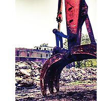 Jaws of destruction  Photographic Print