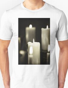 close up of candles T-Shirt