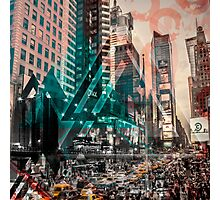 New York City Geometric Mix No. 4 Photographic Print