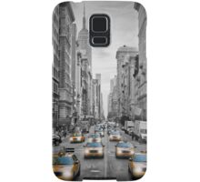5th NYC Avenue Yellow Cabs Samsung Galaxy Case/Skin