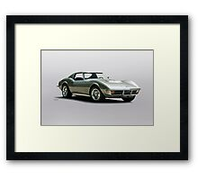 1971 Corvette Stingray C3 427 Framed Print