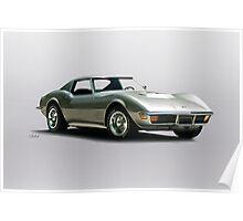1971 Corvette Stingray C3 427 Poster