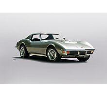 1971 Corvette Stingray C3 427 Photographic Print