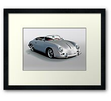 1956 Porsche Speedster 'Replica' Framed Print