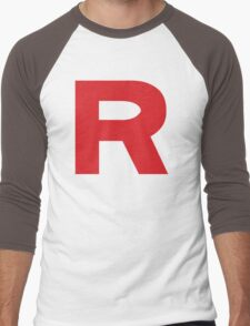 Team Rocket Logo Men's Baseball ¾ T-Shirt