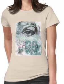 Indie Summertime Womens Fitted T-Shirt