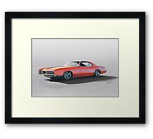 1966 Buick 'Custom' Riveria Framed Print
