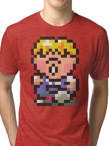Pokey Minch - Earthbound/Mother 2 Tri-blend T-Shirt