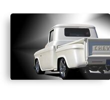 1956 Chevrolet Stepside Pickup 'Studio' Metal Print