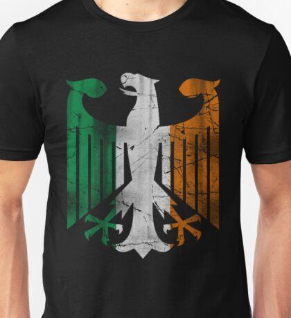 Vintage Irish German Eagle Heritage  Unisex T-Shirt
