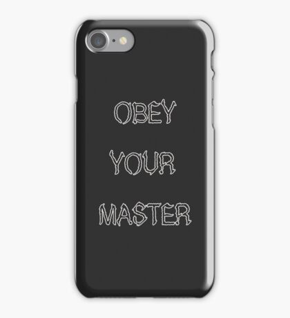 Metallica Obey Your Master iPhone Case/Skin