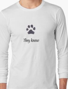 Skyrim Spin-off for Animal Lovers Long Sleeve T-Shirt