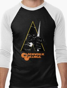 A Clockwork Orange (Airbrushed) Men's Baseball ¾ T-Shirt