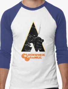 A Clockwork Orange (Airbrushed) Men's Baseball ¾ T-Shirt