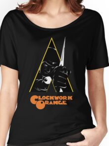 A Clockwork Orange (Airbrushed) Women's Relaxed Fit T-Shirt