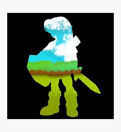 Zelda - Silhouette Photographic Print