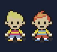 Lucas and Claus - Mother 3 Kids Tee