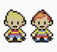 Lucas and Claus - Mother 3 One Piece - Long Sleeve