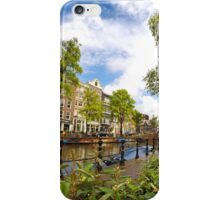 Sightseeing in Amsterdam  iPhone Case/Skin