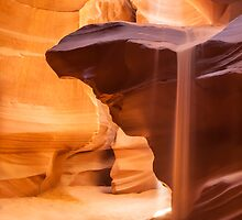 Antelope Canyon Pouring Sand by Melanie Viola