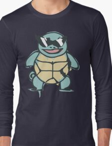 Ash's Squirtle (Squirtle Squad Leader) Long Sleeve T-Shirt