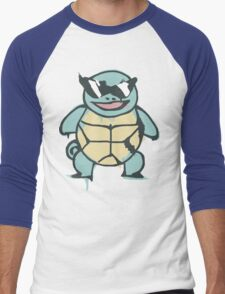 Ash's Squirtle (Squirtle Squad Leader) Men's Baseball ¾ T-Shirt