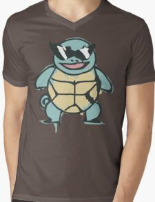 Ash's Squirtle (Squirtle Squad Leader) Mens V-Neck T-Shirt