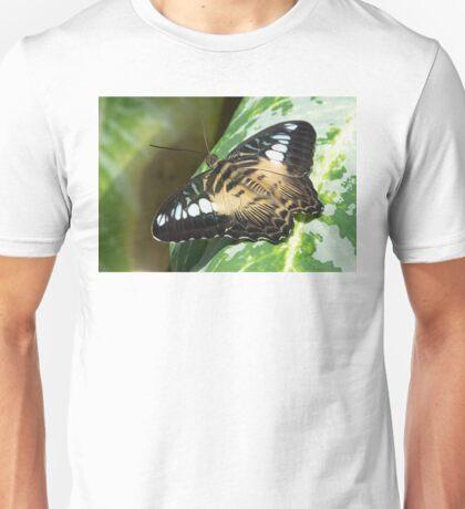 Butterfly Resting Unisex T-Shirt
