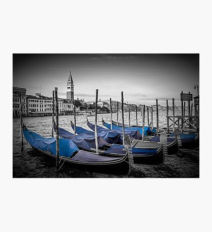VENICE Grand Canal and St Mark's Campanile Photographic Print