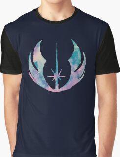 Watercolor Jedi Order (black) Graphic T-Shirt