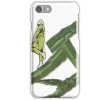 Collage - Walking on Asparagus iPhone Case/Skin