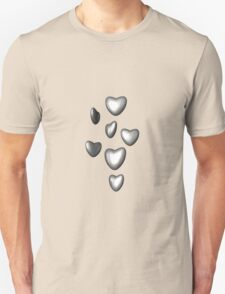 Unbreakable hearts metal Unisex T-Shirt