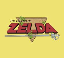 The Legend of Zelda Logo Kids Tee