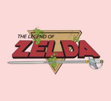 The Legend of Zelda Logo One Piece - Short Sleeve