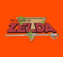 The Legend of Zelda Logo Kids Tee