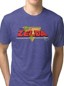 The Legend of Zelda Logo Tri-blend T-Shirt