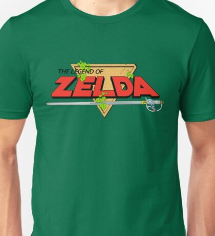 The Legend of Zelda Logo Unisex T-Shirt