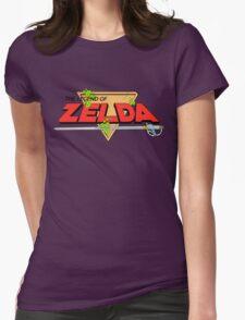 The Legend of Zelda Logo Womens Fitted T-Shirt