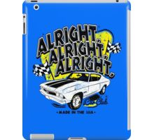 Alright, Alright, Alright iPad Case/Skin