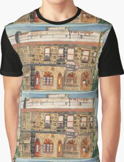 Western Hotel Graphic T-Shirt