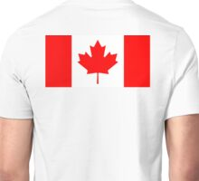 CANADA, CANADIAN, Canadian Flag, Canada Flag, Pure & Simple, National Flag of Canada, 'A Mari Usque Ad Mare' Unisex T-Shirt