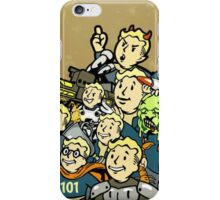 Vault-Tec Boys (color edition) iPhone Case/Skin