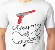 Weapon of Choice (2014 Revamped Version) Unisex T-Shirt